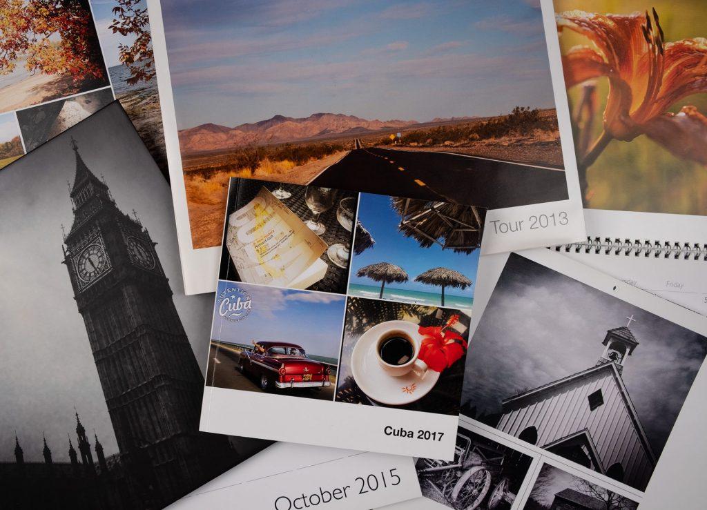 Photo books and calendars