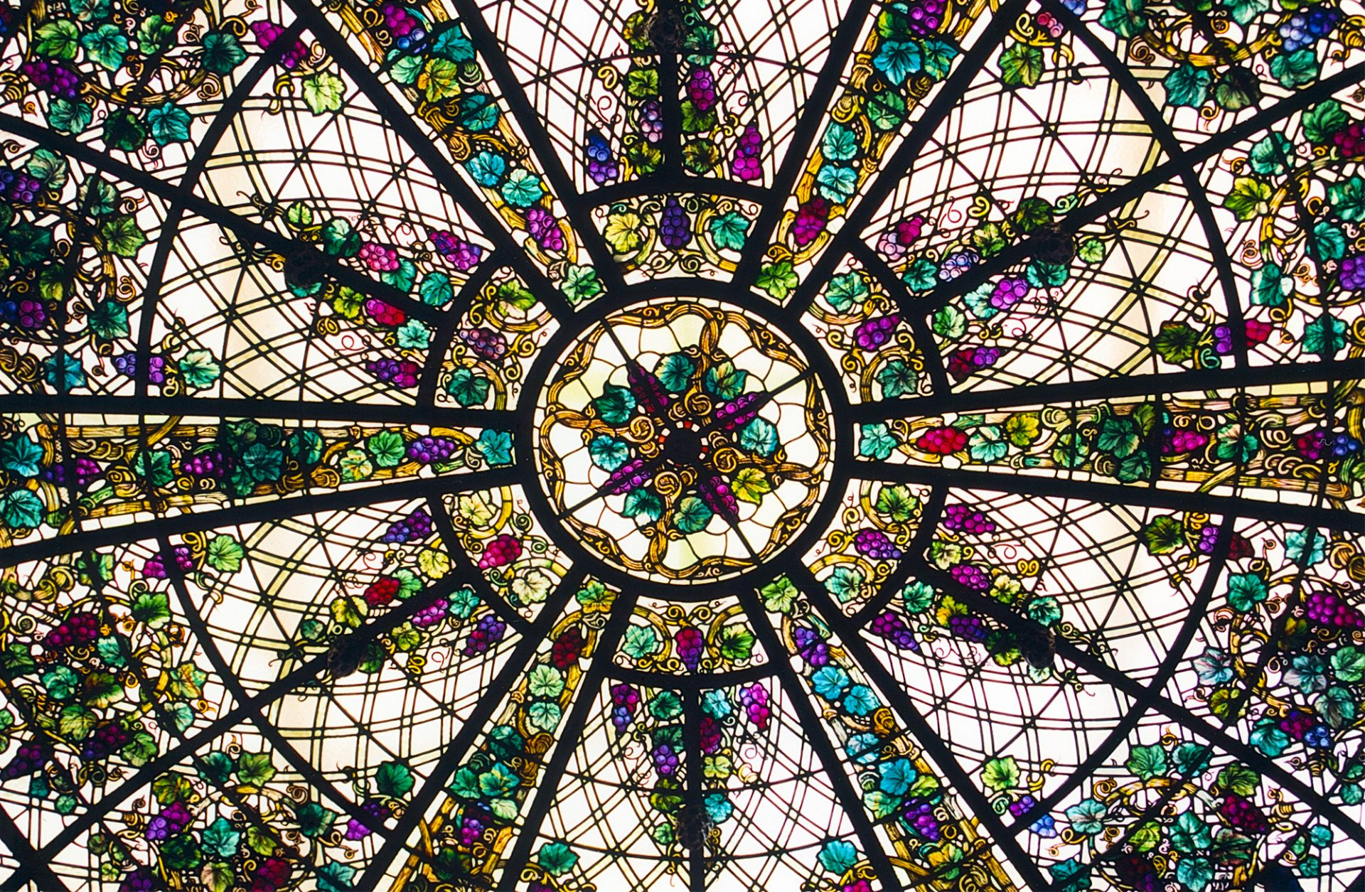 stained glass window, casa loma, toronto